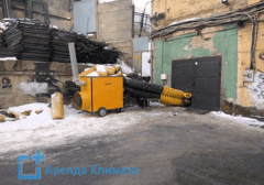 Аренда дизельной тепловой пушки
