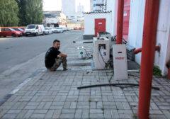 Охлаждение склада Колонные кондиционеры 16 кВт