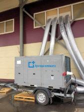 Охлаждение склада руфтоп 53 кВт