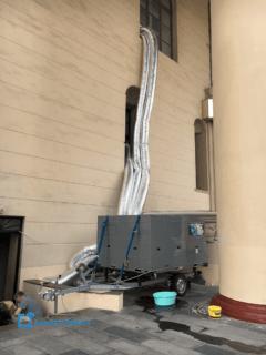Аренда промышленного мобильного кондиционера для ипподрома