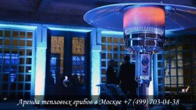 Аренда тепловых грибов в Москве и МО